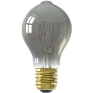 CALEX - LED Lamp - Filament A60 - E27 Fitting - Dimbaar - 4W - Warm Wit 2100K - Titanium-1