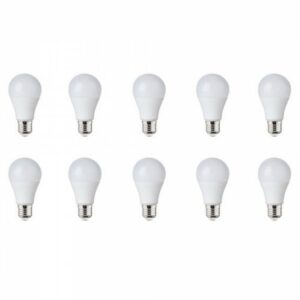 LED Lamp 10 Pack - E27 Fitting - 10W Dimbaar - Helder/Koud Wit 6400K-1