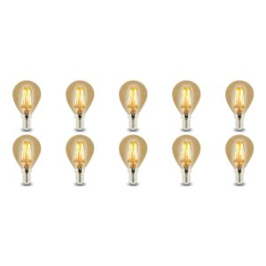 LED Lamp 10 Pack - Facto - Filament Bulb - E14 Fitting - 4W - Warm Wit 2700K-1