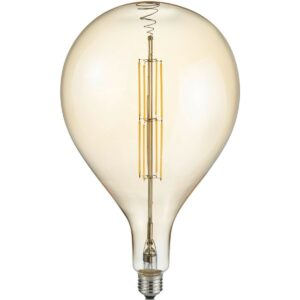 LED Lamp - Design - Trion Tropy DR - Dimbaar - E27 Fitting - Amber - 8W - Warm Wit 2700K-1