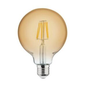 LED Lamp - Filament Rustiek - Globe - E27 Fitting - 6W - Warm Wit 2200K-1