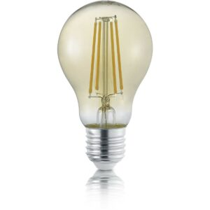 LED Lamp - Filament - Trion Limpo - E27 Fitting - 8W - Warm Wit 2700K - Amber - Glas-1