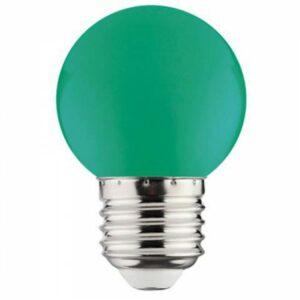 LED Lamp - Romba - Groen Gekleurd - E27 Fitting - 1W-1