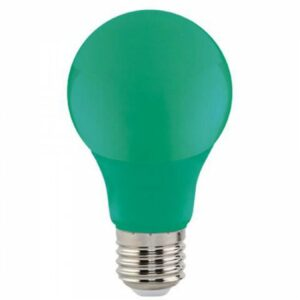 LED Lamp - Specta - Groen Gekleurd - E27 Fitting - 3W-1