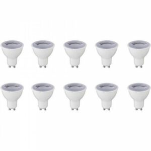 LED Spot 10 Pack - GU10 Fitting - Dimbaar - 6W - Warm Wit 3000K-1