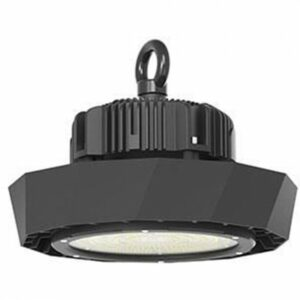 LED UFO High Bay 120W - Viron Manisa - Magazijnverlichting - Waterdicht IP65 - Helder/Koud Wit 6400K - Mat Zwart - Aluminium-1