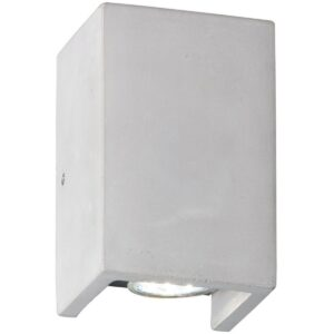 LED Wandlamp - Wandverlichting - Trion Cubin - GU10 Fitting - Rechthoek - Beton Look - Beton-1