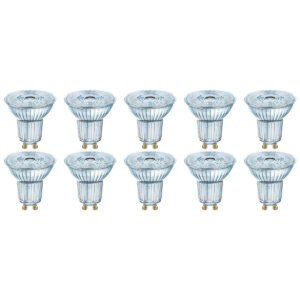 OSRAM - LED Spot 10 Pack - Parathom PAR16 927 36D - GU10 Fitting - Dimbaar - 3.7W - Warm Wit 2700K | Vervangt 35W-1