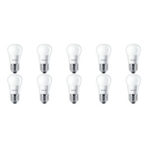PHILIPS - LED Lamp 10 Pack - CorePro Lustre 827 P45 FR - E27 Fitting - 4W - Warm Wit 2700K | Vervangt 25W-1