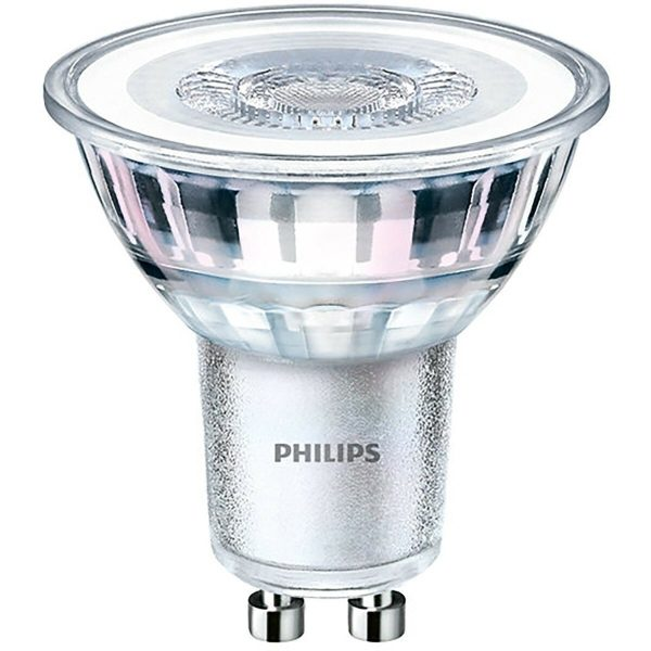 PHILIPS - LED Spot Set - CorePro 827 36D - Pragmi Rodos Pro - GU10 Fitting - Inbouw Rond - Mat Zwart - 4.6W - Warm Wit 2700K - Ø93mm-3