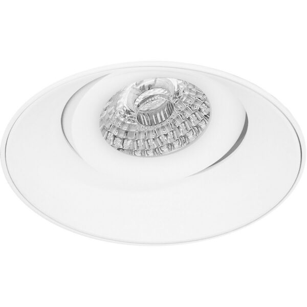 PHILIPS - LED Spot Set - CorePro 830 36D - Pragmi Nivas Pro - GU10 Fitting - Inbouw Rond - Mat Wit - 4.6W - Warm Wit 3000K - Trimless - Kantelbaar - Ø150mm-2