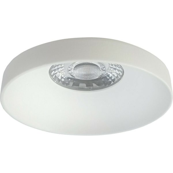 PHILIPS - LED Spot Set - CorePro 830 36D - Pragmi Vrito Pro - GU10 Fitting - Dimbaar - Inbouw Rond - Mat Wit - 4W - Warm Wit 2700K - Ø82mm-2