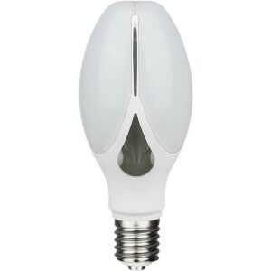 SAMSUNG - LED Lamp - Viron Anton - Bulb - E27 Fitting - 36W - Warm Wit 3000K - Mat Wit - Aluminium-1