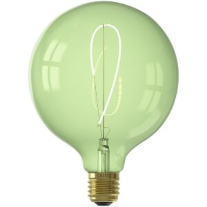 CALEX - LED Lamp - Nora Emerald G125 - E27 Fitting - Dimbaar - 4W - Warm Wit 2200K - Groen-1