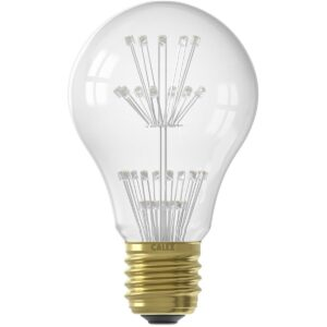 CALEX - LED Lamp - Pearl A60 - E27 Fitting - 1W - Warm Wit 2100K - Transparant Helder-1