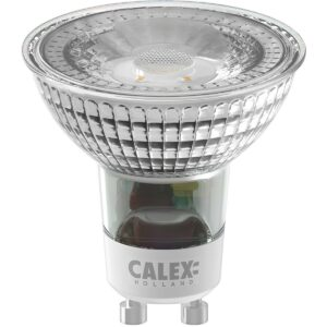 CALEX - LED Spot - SMD - GU10 Fitting - 3W - Warm Wit 2700K - Wit-1