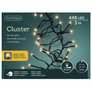Clusterverlichting lumineo 448-lamps LED 'classic warm'-1
