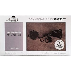 Connectable 24 volt adaptor-1