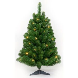 Kunstkerstboom Table tree 60cm 24 LED warm wit-1