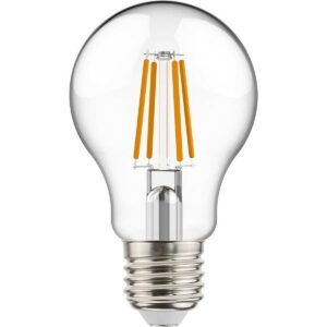 LED Lamp - Sanola Yvoni - Filament - E27 Fitting - 4W - Warm Wit 2700K - Transparent Helder - Glas-1