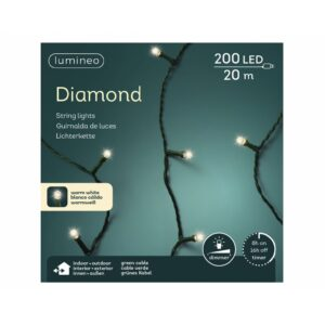 LED diamondverlichting lumineo 200 lamps 'warm wit-1